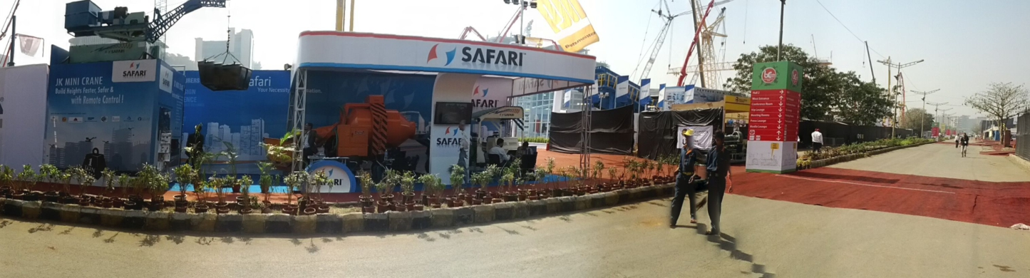 Concrete Mixer Machine Purchase at Bauma, India