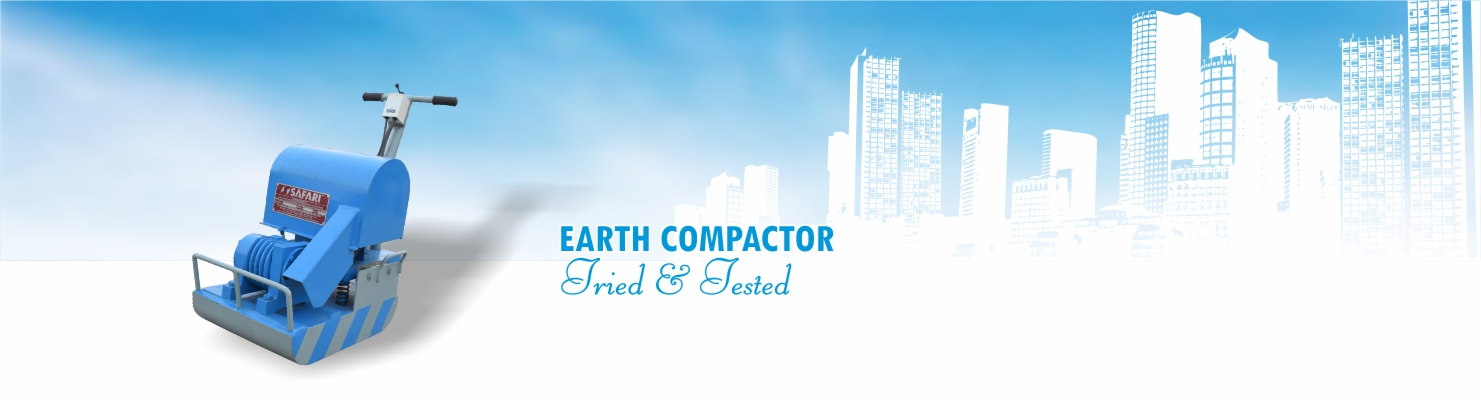 Earth Compactor for Soil Compaction