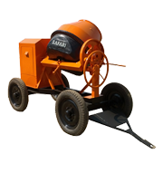 HAND FEED CONCRETE MIXER