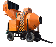 Reversible Drum Cement Concrete Mixer Machine