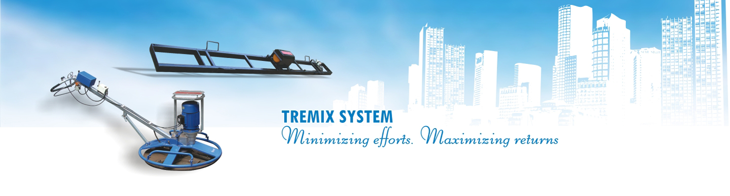 Tremix System For Dewatered Floors And Rcc Concrete Roads