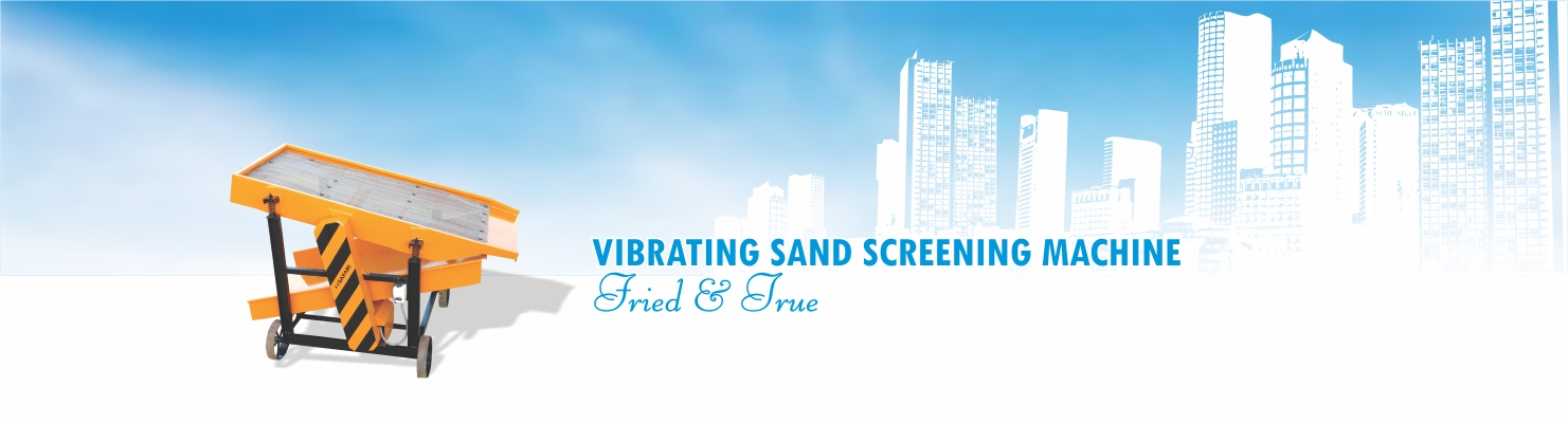 Sand Screening Machine manufacturer Safari