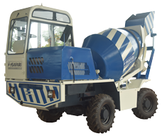 SELF LOADING TRANSIT CONCRETE MIXER